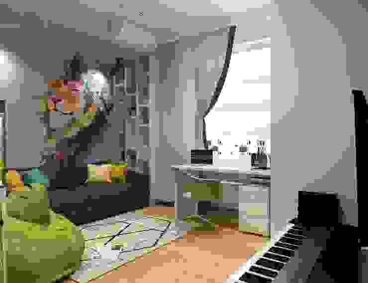Урбанистический уют Детские комната в эклектичном стиле от Ирина Альсмит Эклектичный