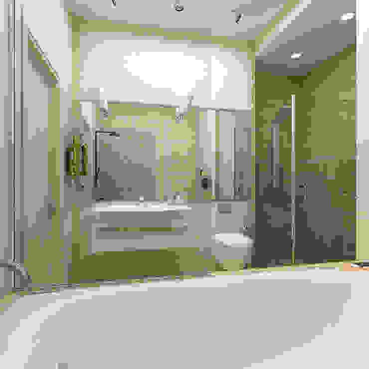 Урбанистический уют Ванная комната в эклектичном стиле от Ирина Альсмит Эклектичный