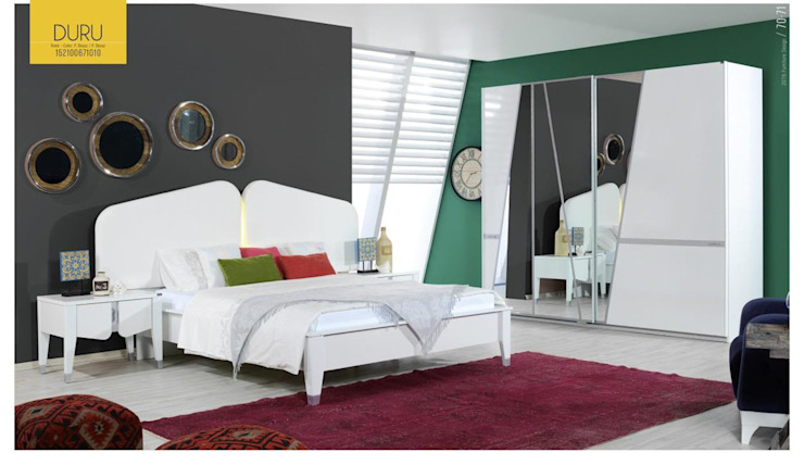 Gllamor Duru Bedroom: modern  by Gllamor,Modern