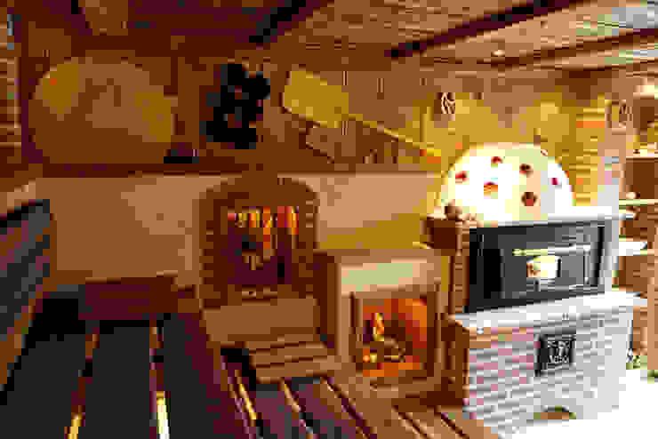 Dekoration Erdmann Exklusive Saunen Rustikaler Spa