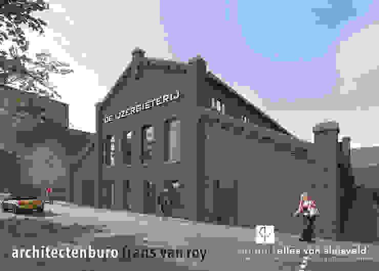 wonen in de ijzergieterij Industriële huizen van architectenburo frans van roy Industrieel