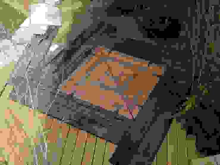 ガーデン囲炉裏: 木村博明 株式会社木村グリーンガーデナーが手掛けた折衷的なです。,オリジナル