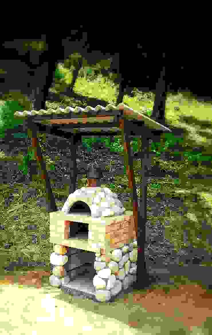 ピザ窯: 木村博明 株式会社木村グリーンガーデナーが手掛けた折衷的なです。,オリジナル