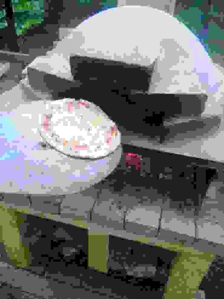 ピザ焼きあがり: 木村博明 株式会社木村グリーンガーデナーが手掛けた折衷的なです。,オリジナル