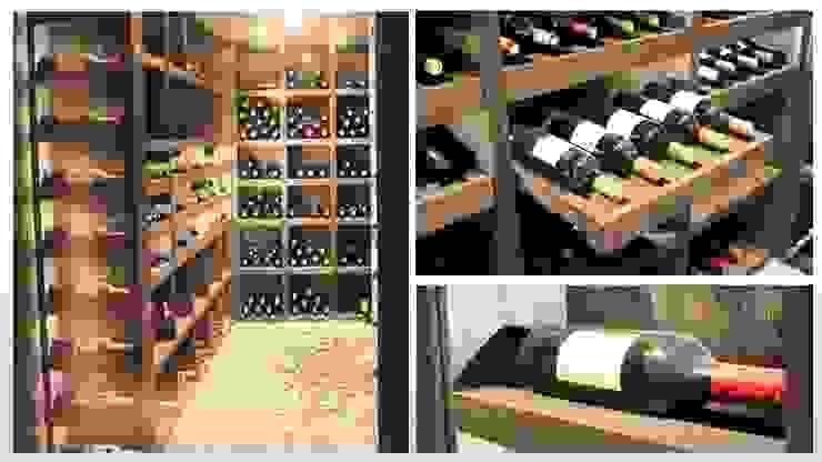 Maison - le Vésinet Cave à vin moderne par ARCHITECTURAL DECO Moderne