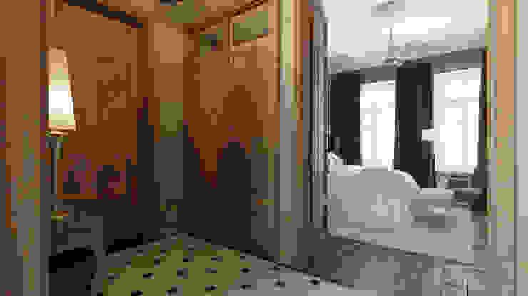 Квартира на Пречистенке FAOMI Коридор, прихожая и лестница в скандинавском стиле
