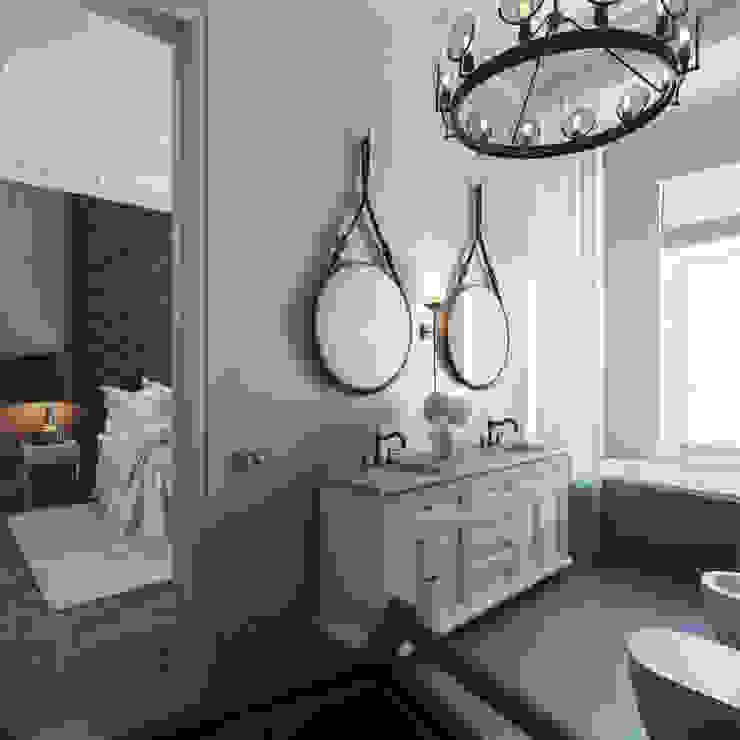 Scandinavian style bathroom by FAOMI Scandinavian