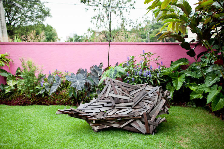 Garden by Estúdio Paulo Alves, Modern
