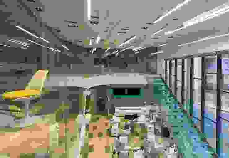 Офис продаж поселка таунхаусов от Михаил Новинский (MNdesign)