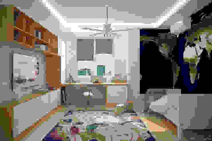 Kinderkamer door Студия интерьерного дизайна happy.design,