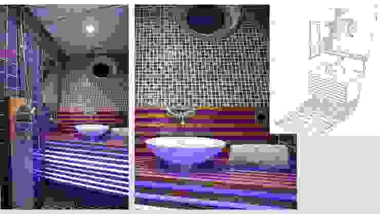 Casas de banho modernas por ARCHITECTURAL DECO Moderno