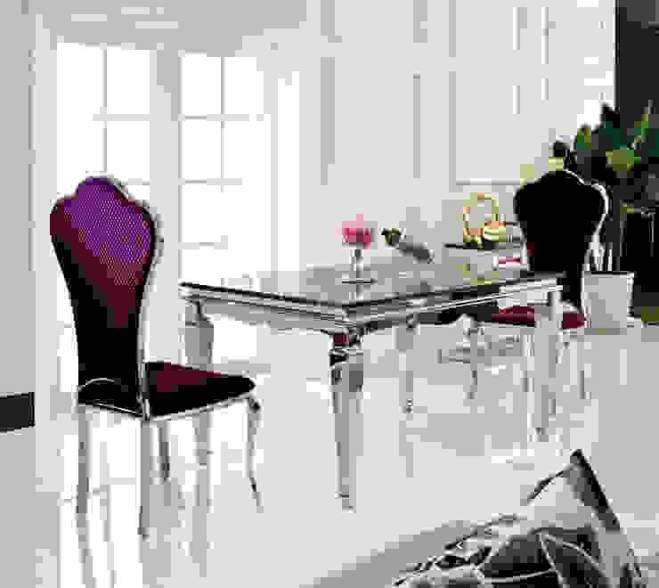 Gllamor Stainless steel table: modern  by Gllamor,Modern