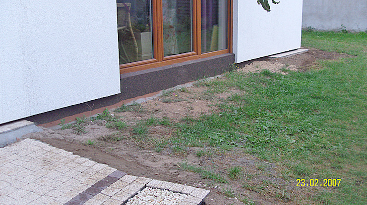 Taras kompozytowy w Suchym Lesie k. Poznania od PHU Bortnowski