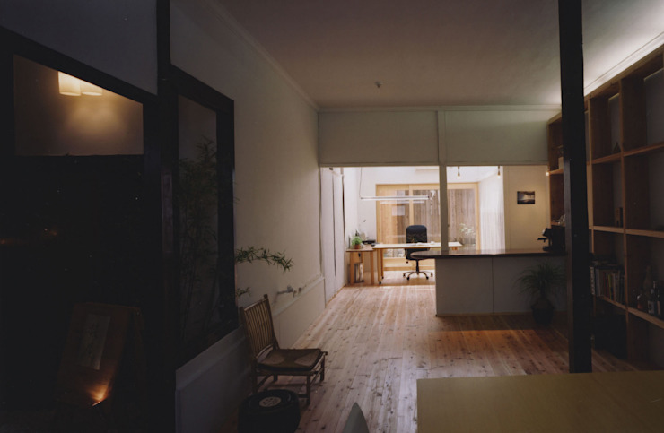 アトリエ モダンデザインの 書斎 の 建築設計室Morizo- モダン