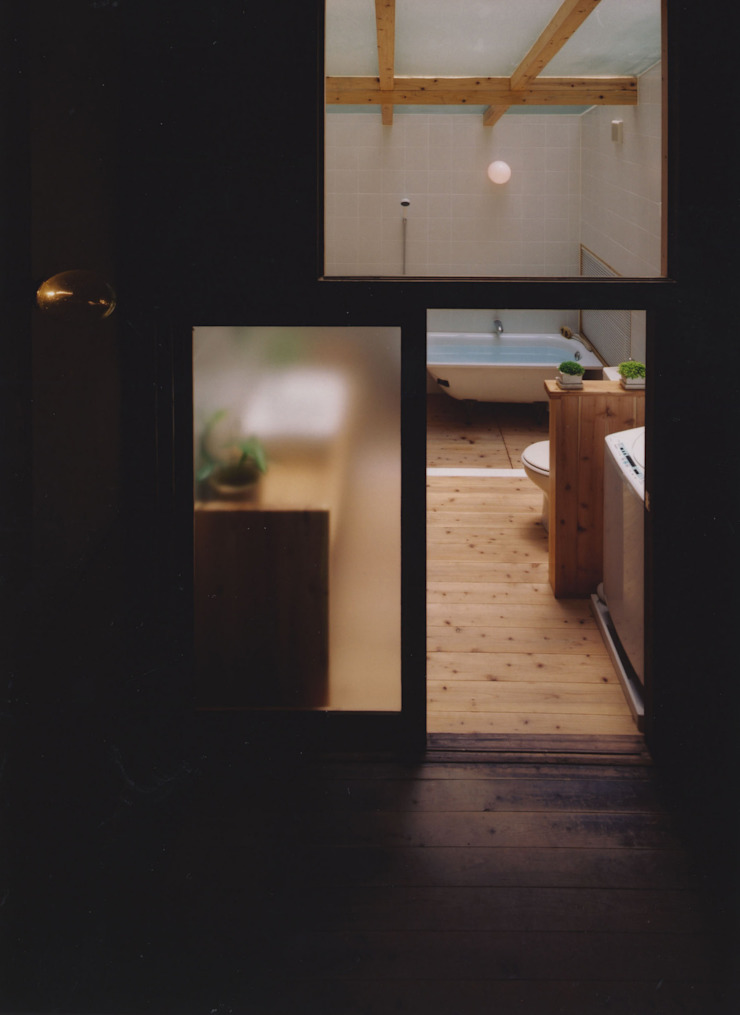 アトリエ モダンスタイルの お風呂 の 建築設計室Morizo- モダン