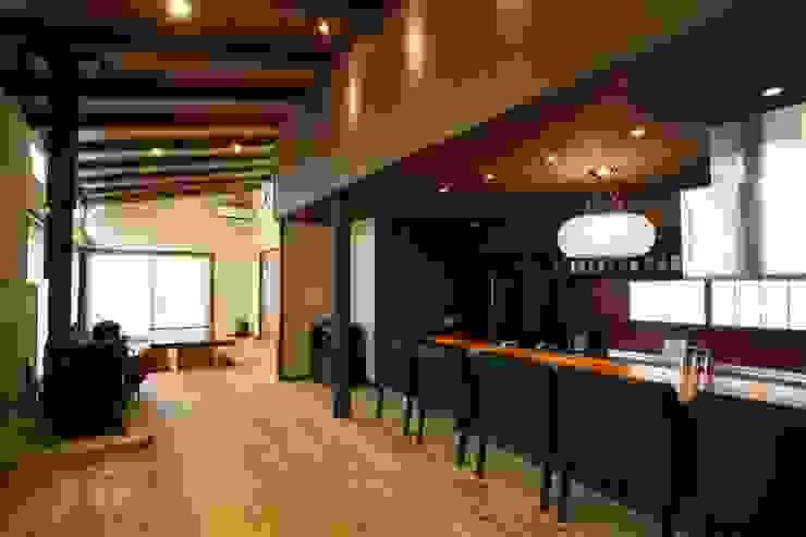 神奈川県鎌倉市 鎌倉山の家 オリジナルデザインの ダイニング の Gen Design Factory オリジナル