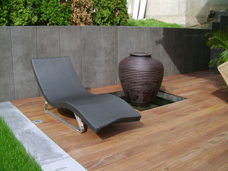 Jardin moderne par BERND WALDVOGEL LANDSCHAFTSARCHITEKTUR Moderne