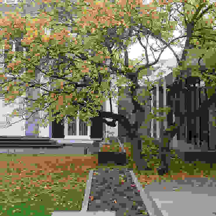 Modern Bahçe BERND WALDVOGEL LANDSCHAFTSARCHITEKTUR Modern