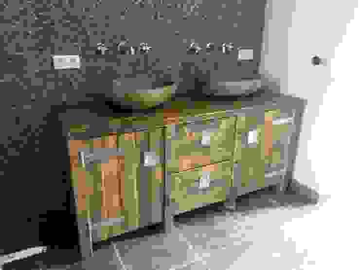 Badkamer meubels op maat van maiidee Landelijk Hout Hout