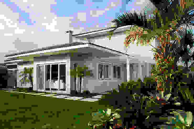 Casa de Praia em Xangri-lá - RS Casas modernas por Londero Moraes Arquitetura & Design Moderno