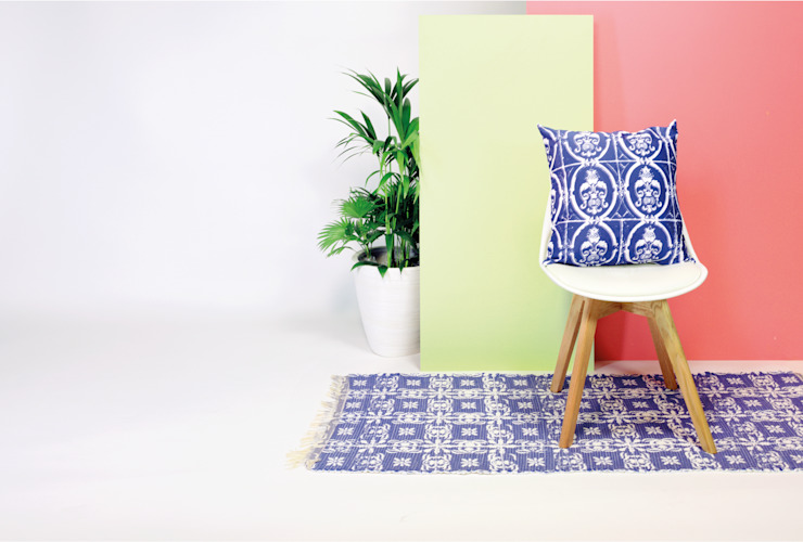 homify HouseholdTextiles Blue