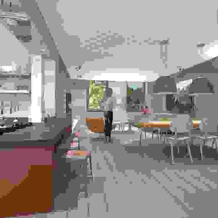 wonen in de ijzergieterij Industriële eetkamers van architectenburo frans van roy Industrieel