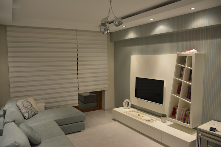Özel Konut Tasarımı Modern Oturma Odası Deco Mimarlik Modern