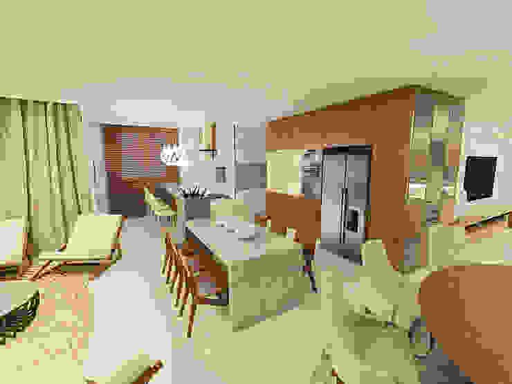 Apartamento Beira Mar Balneário Camboriú Cozinhas modernas por Cas Arquitetos Associados Moderno