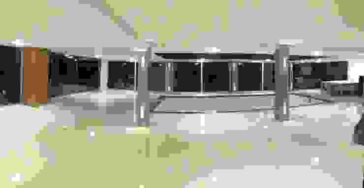 Restylen Villa te Essen Moderne woonkamers van Vergouwen & Van Rijen architecten BNA BVBA Modern