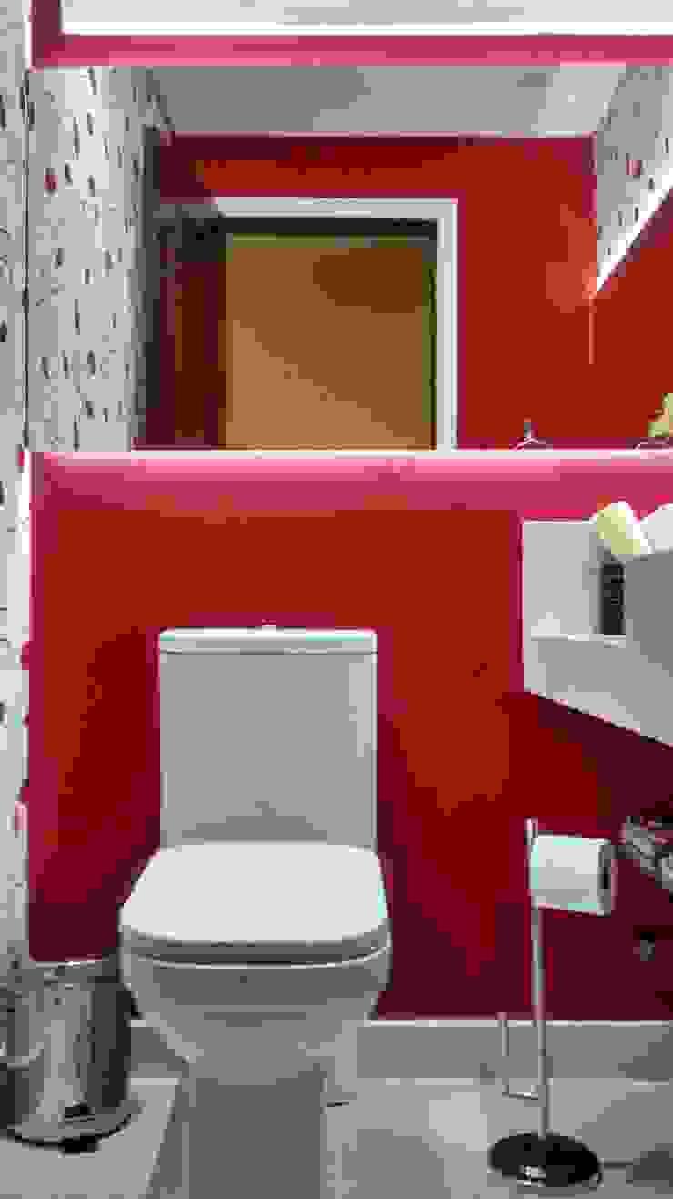 LAVABO Banheiros ecléticos por AA MENDES ARQUITETURA E DESIGN LTDA Eclético