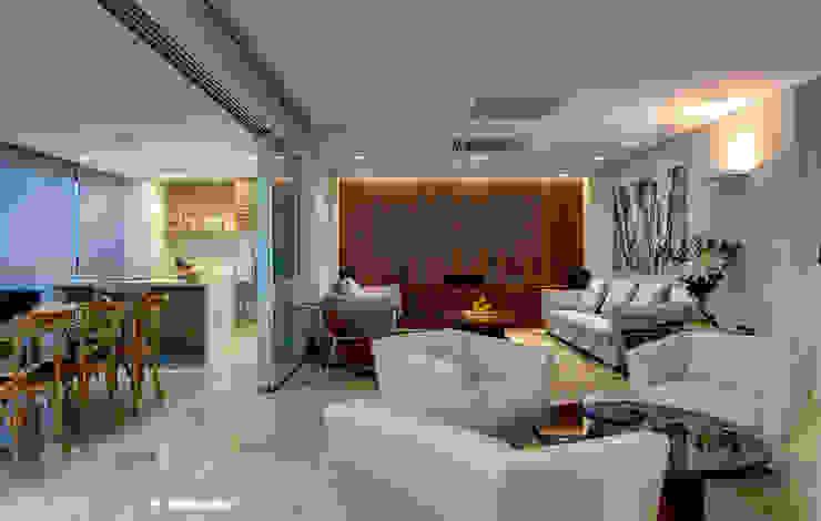 Salones de estilo  de Lage Caporali Arquitetas Associadas, Moderno