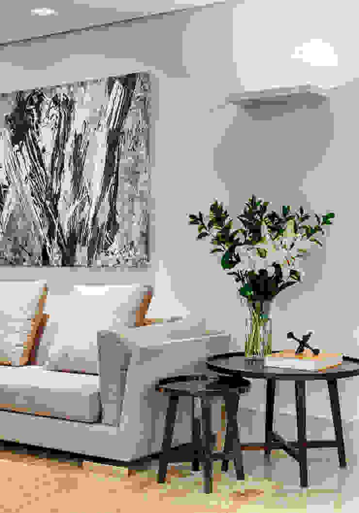 Lage Caporali Arquitetas Associadas Salas de estilo moderno