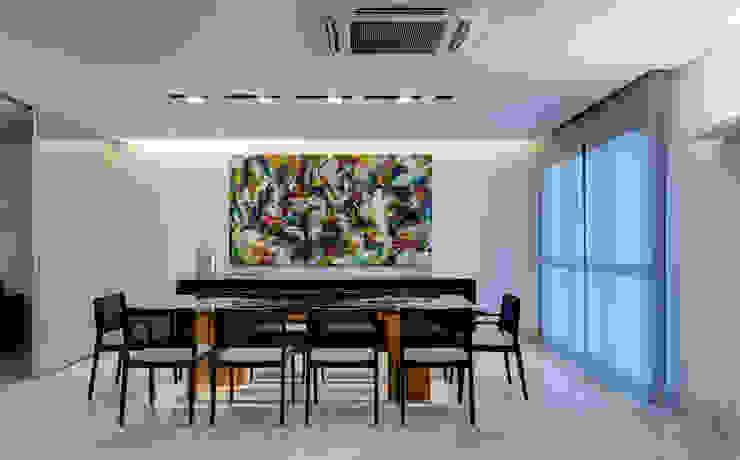 Lage Caporali Arquitetas Associadas Comedores de estilo moderno