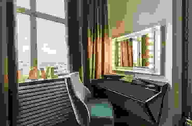 спальня Спальня в стиле минимализм от Medianyk Studio Минимализм