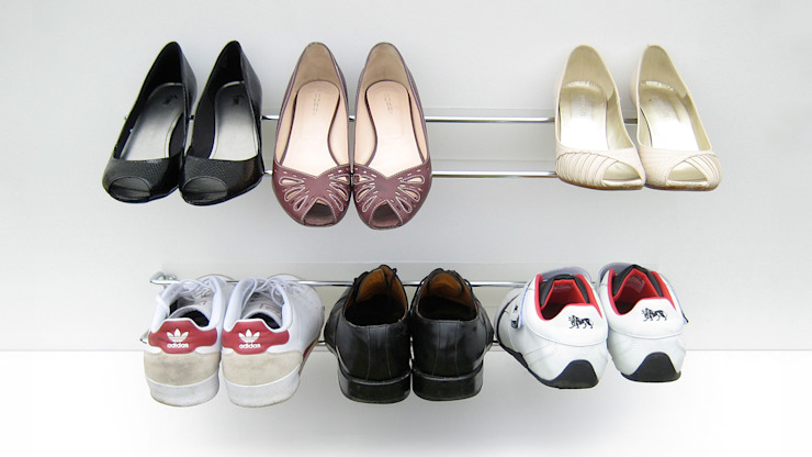 Wired Shoe Rack HeadSprung Ltd Vestíbulos, pasillos y escalerasAlmacenamiento