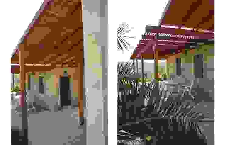 T2 Evi Modern Balkon, Veranda & Teras DAFNI MİMARLIK Modern