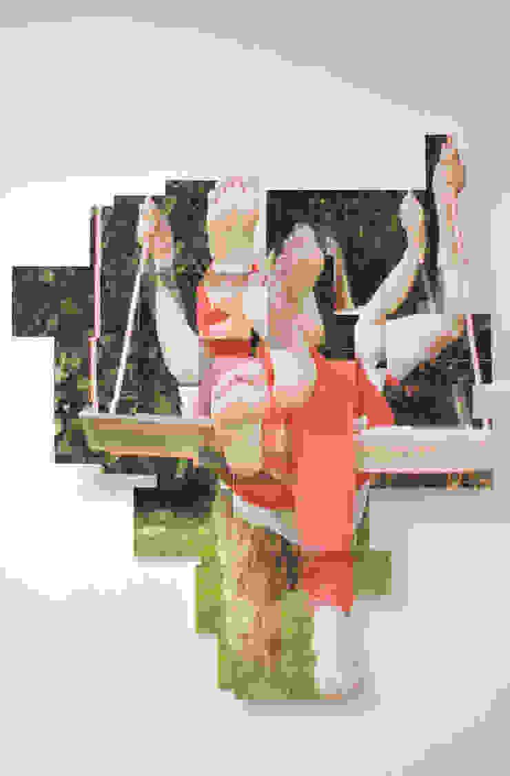 Zusje op de schommel: modern  door KRIS doet kunst, Modern Kunststof