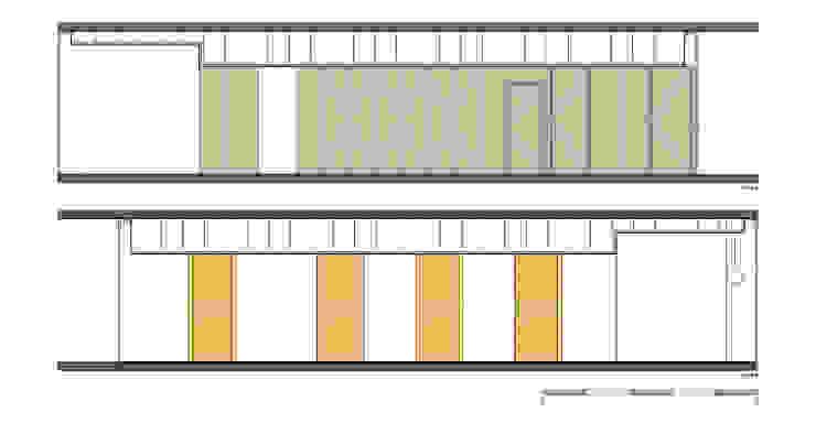 Cortes - Intervenção por Teresa Pinto Ribeiro | Arquitectura & Interiores Moderno