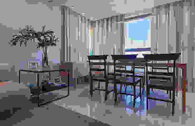 Loft Belvedere Salas de jantar modernas por Dubal Arquitetura e Design Moderno