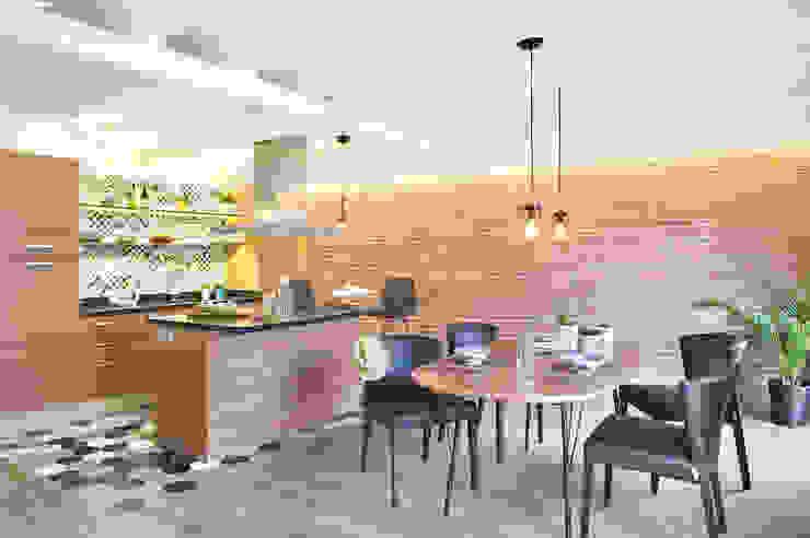 Cambio Sena por Mediterráneo Cocinas de estilo moderno de Egue y Seta Moderno