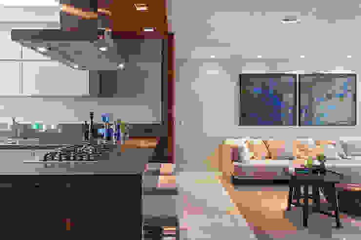 Loft Belvedere Salas de estar modernas por Dubal Arquitetura e Design Moderno
