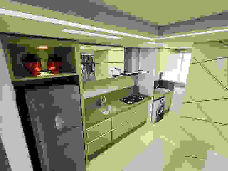 Apartamento Itoupava Norte Blumenau Cozinhas modernas por Cas Arquitetos Associados Moderno