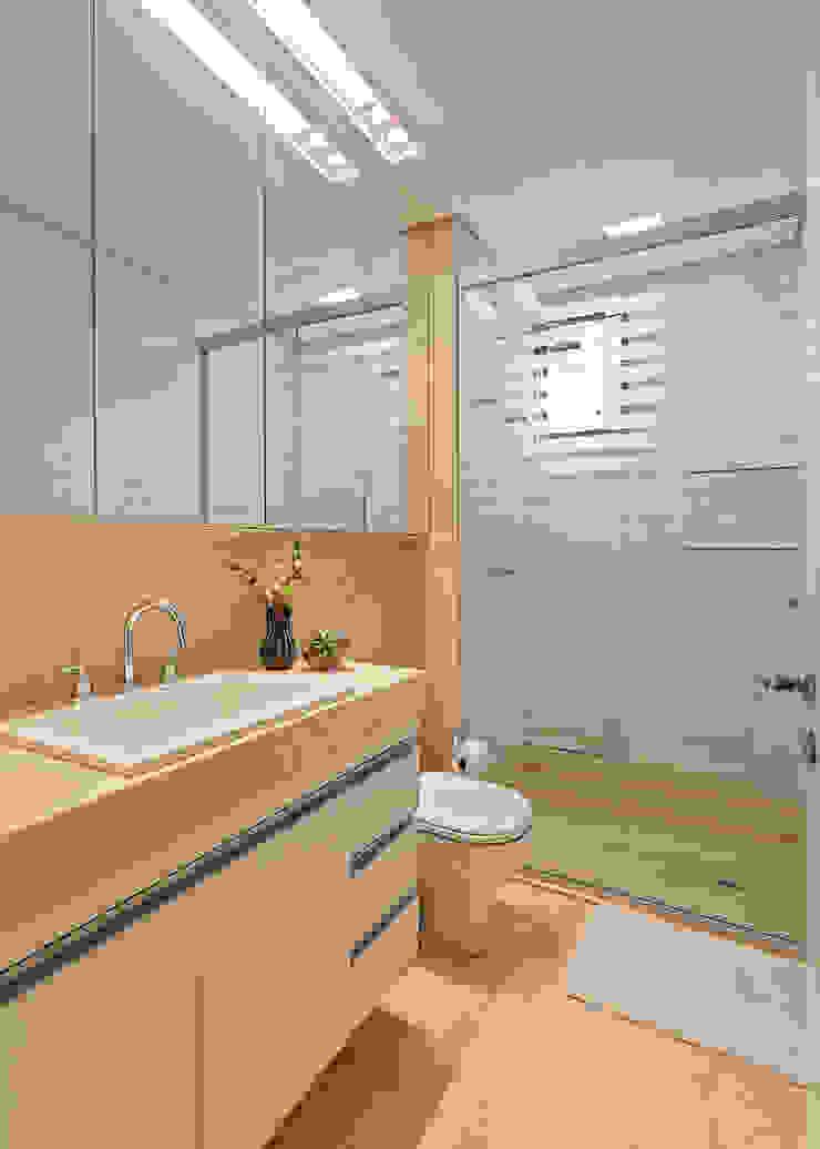 Loft Belvedere Banheiros modernos por Dubal Arquitetura e Design Moderno