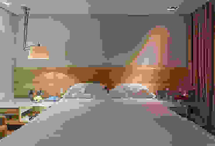 Loft Belvedere Quartos modernos por Dubal Arquitetura e Design Moderno