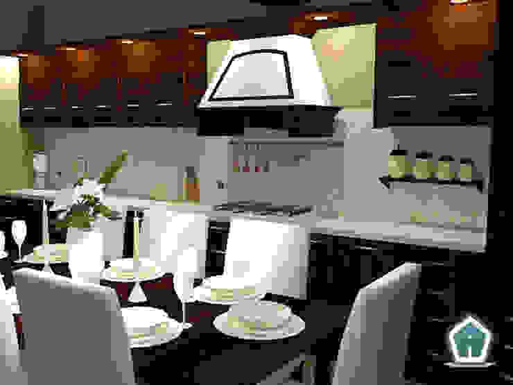Rustikale Küchen von 3d Casa Design Rustikal