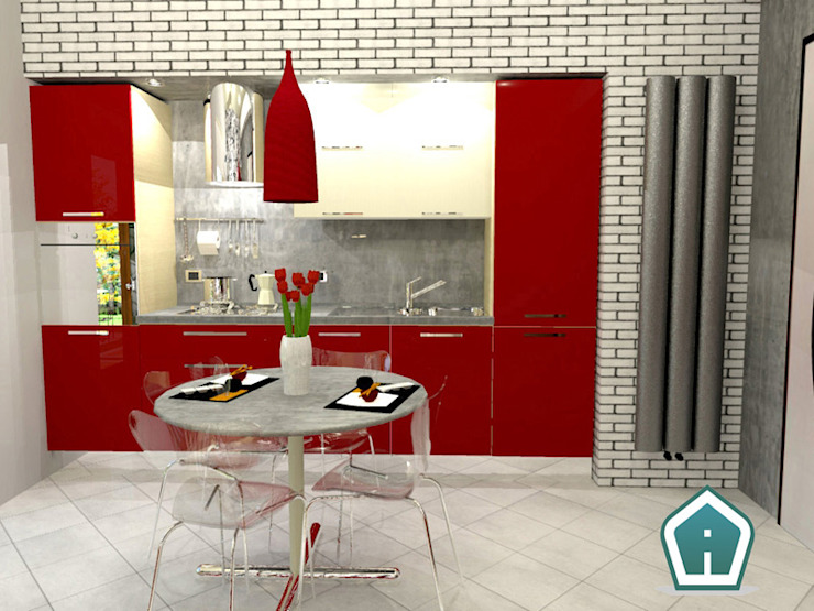 3d Casa Design Cocinas de estilo moderno
