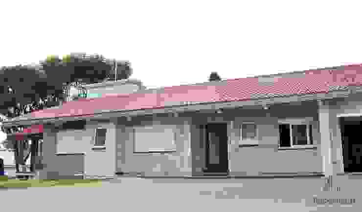 Residência Unifamiliar Entre-Ijuís -RS / Brasil Casas modernas por Rockenbach Arquitetos Associados Moderno