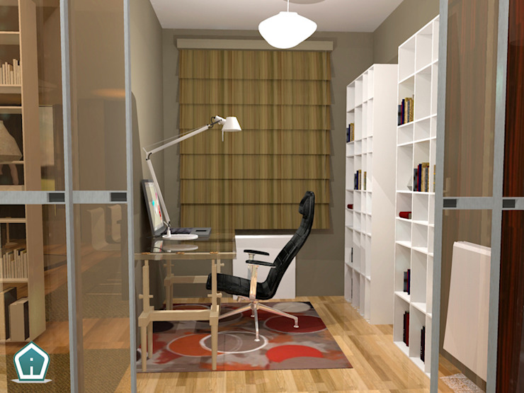 Camerette 3d Casa Design Studio moderno