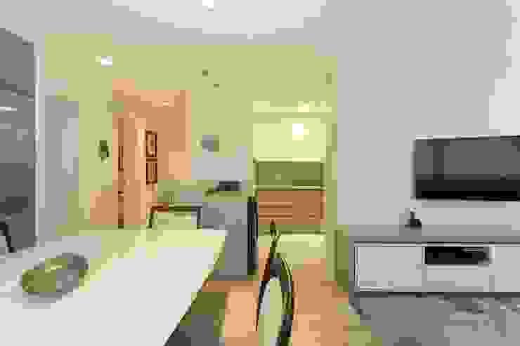 Apartamento GPG - Sala de Jantar Salas de jantar modernas por Kali Arquitetura Moderno