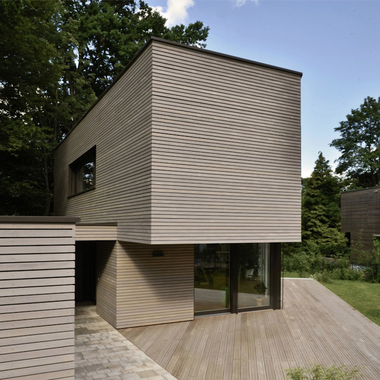 Modern houses by BUCHER | HÜTTINGER - ARCHITEKTUR INNEN ARCHITEKTUR Modern Wood Wood effect